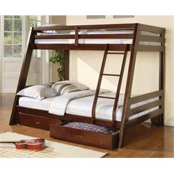 460228 F/T BunkBed With Mattresses 460228 Image